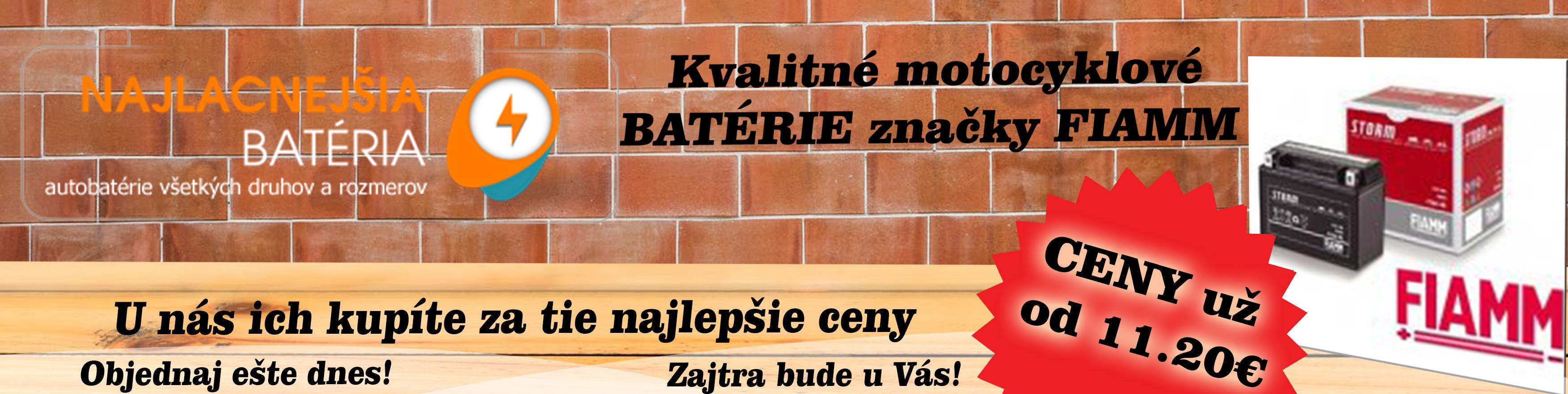 121d04297 Batérie pre motocykle - Autobatérie pre nákladné a osobné autá, motorky