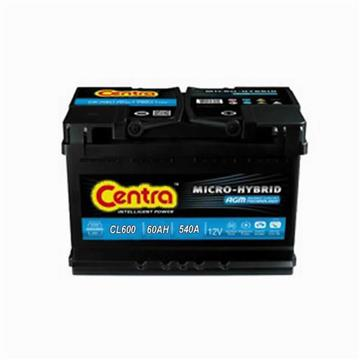 AKUMULATOR CENTRA START-STOP ECM 60AH 540A CL600 242X175X190