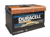 Akumulator Duracell Advanced 12V 72Ah 660A P+