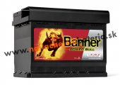 Akumulator Banner Power Bull 12V 62Ah 540A P+